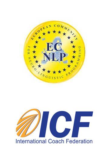 ECNLP & ICF Logo