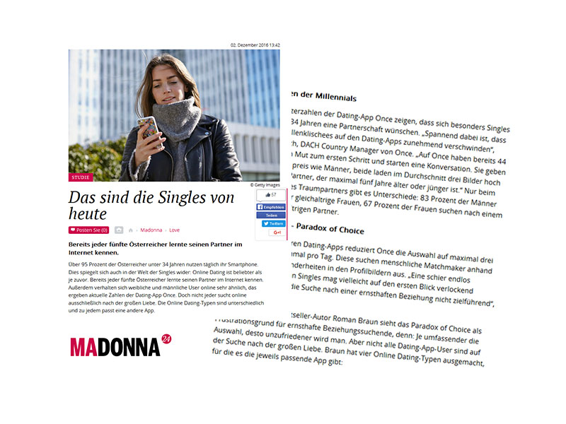 Wann gibt man Online-Dating an?
