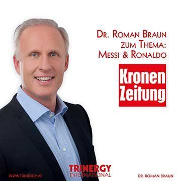Dr. Roman Braun in der Kronenzeitung