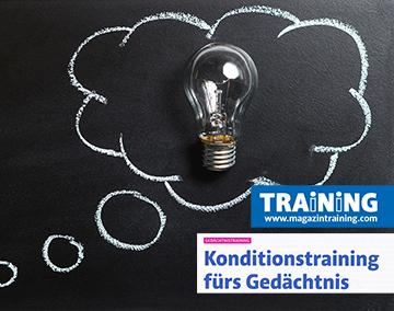 Dr. Roman Braun im Magazin Training