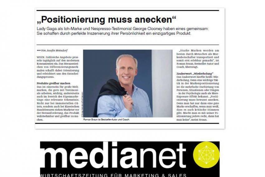 Roman Braun in MEDIANET