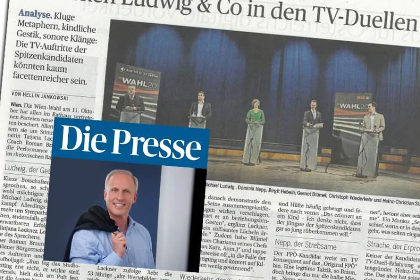 "Dr. Roman Braun in ""Die Presse"" 10/2020"