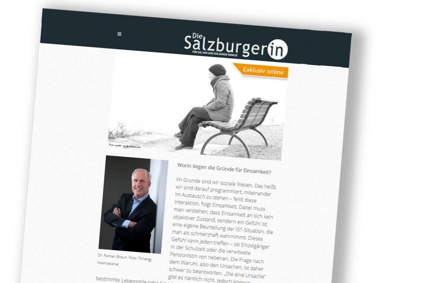 """Dr. Roman Braun in """"Die SalzburgerIn"""" 12/2019"""