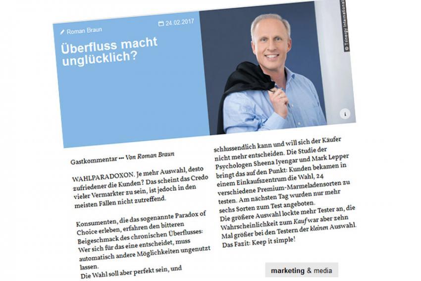 Roman Braun in Marketing & Media ...
