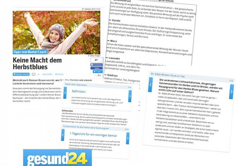 Roman Braun auf Oe24 ...