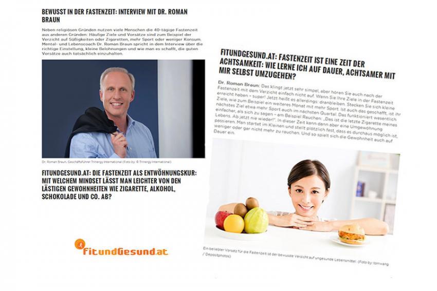 """Dr. Roman Braun auf !fitundgesund.at""""..."""