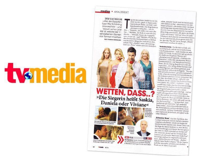 Roman Braun in TV-Media