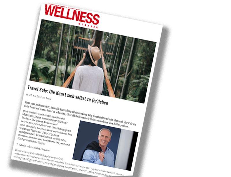 "Dr. Roman Braun im ""Wellness-Magazin"" 05/2019"