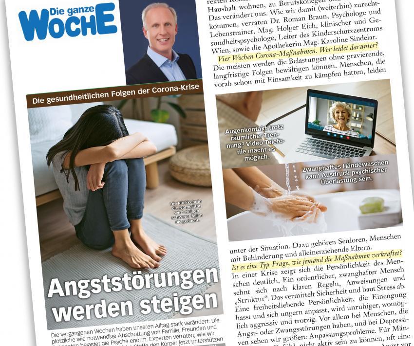 """Dr. Roman Braun in """"Die ganze Woche"""" 05/2020"""