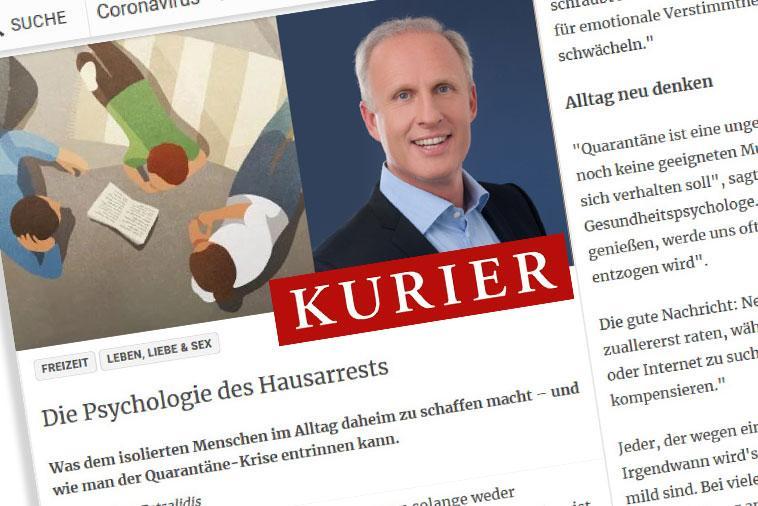 "Dr. Roman Braun im ""KURIER"" 03/2020"