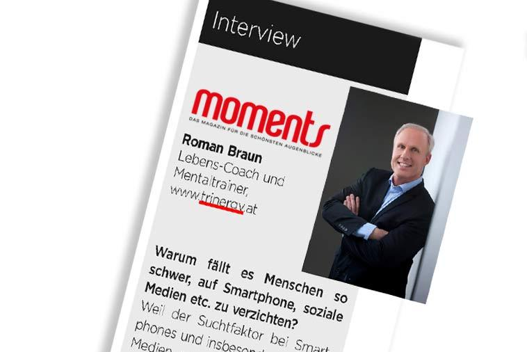 "Dr. Roman Braun in ""Moments (Steiermark)"" 03/2019"