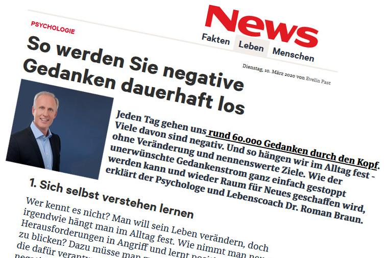 "Roman Braun in ""NEWS"" 03/2020"