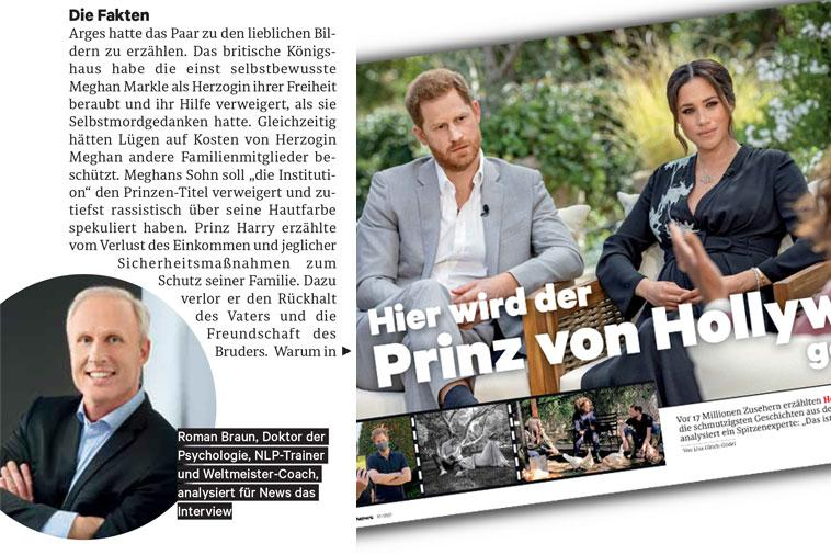 "Roman Braun in ""NEWS"" 03/2021"