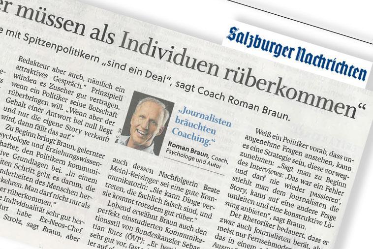 """Dr. Roman Braun in den """"SALZBURGER NACHRICHTEN"""" 08/2021"""