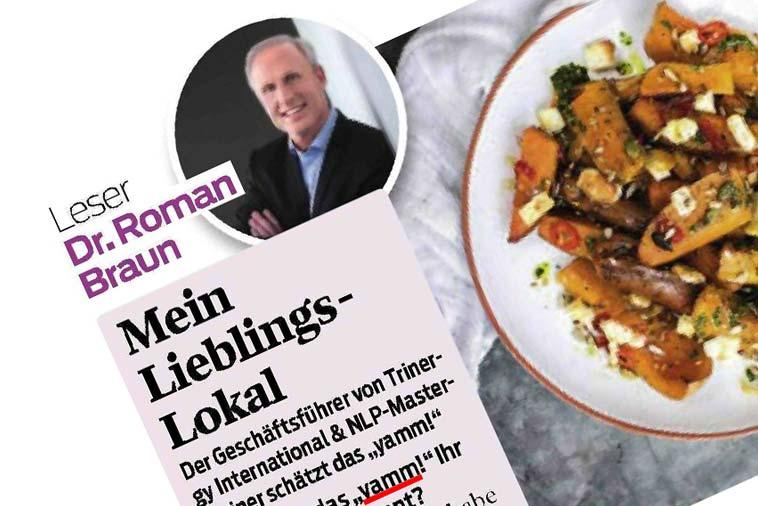 "Dr. Roman Braun in ""Cooking"" 01/2019"