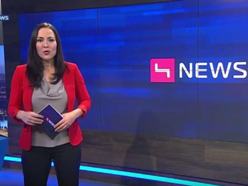 Roman Braun in den Puls 4 NEWS ...