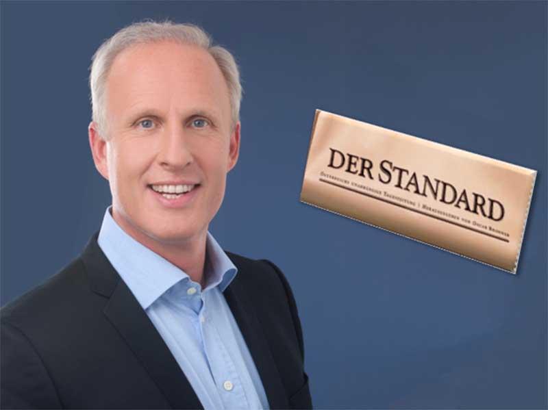 "Roman Braun im ""Standard"" ..."