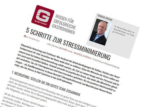"Dr. Roman Braun im ""Gastwirt"" 11/2018"