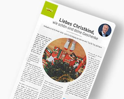 """Dr. Roman Braun in der """"Family extra Wien"""" 12/2018"""