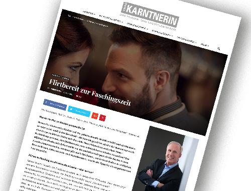 "Dr. Roman Braun in ""Die Kärntnerin"" 03/2019"
