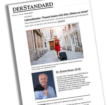 """Dr. Roman Braun in """"Der Standard"""" 06/2019"""