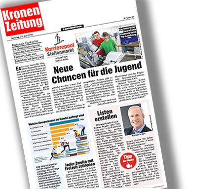 """Dr. Roman Braun in der """"Kronen Zeitung"""" 06/2019"""