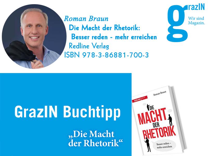 """Dr. Roman Braun in der """"GRAZIN"""" 07/2018"""