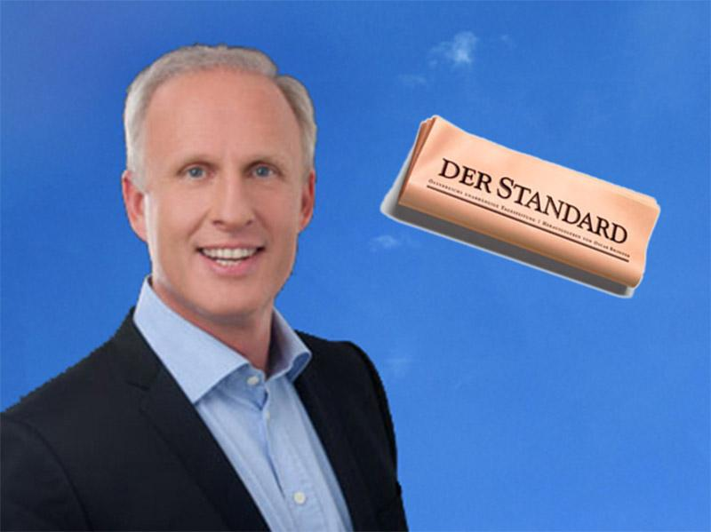 "Roman Braun im ""STANDARD"""