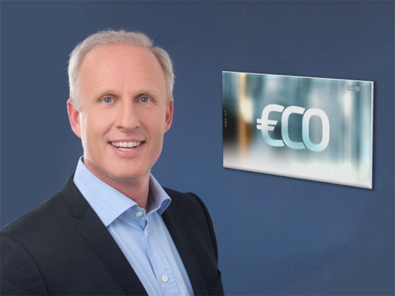 """Roman Braun in ORF II bei """"€co"""" ..."""