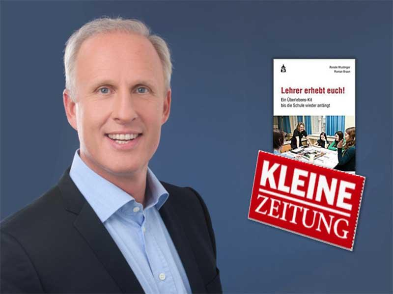 """Roman Braun in der """"Kleinen Zeitung"""""""