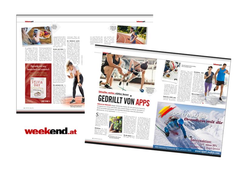 """Roman Braun im """"Weekend Magazin Vorarlberg""""..."""