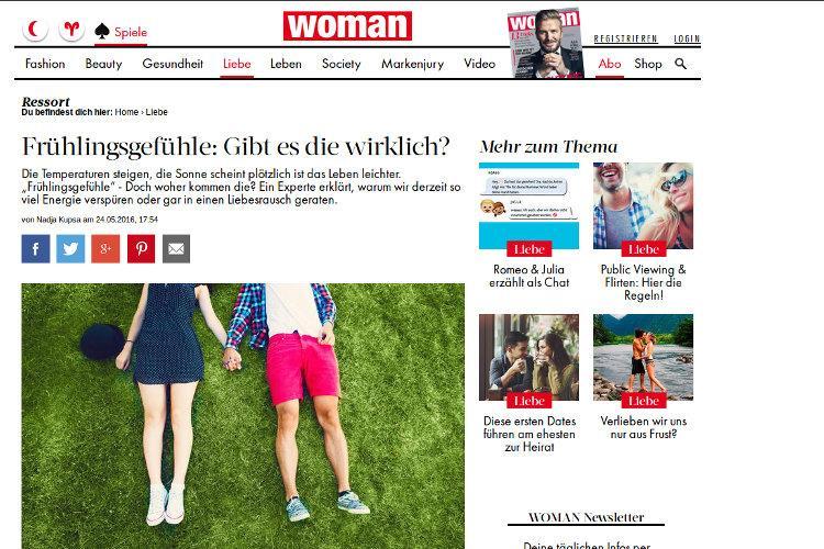 "Roman Braun in der ""WOMAN"" ..."