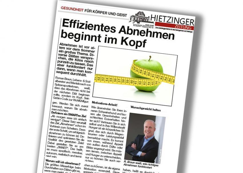 """Dr. Roman Braun in der """"Hietzinger Zeitung"""" 06/2019"""